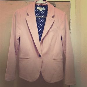 Blush blazer from Boden